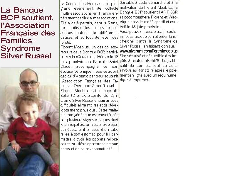 article dans le journal de la BCP