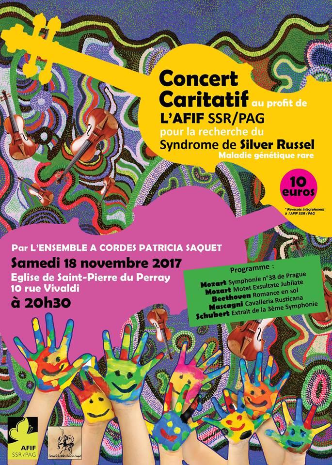 Concert caritatif au profit de l'AFIF SSR PAG