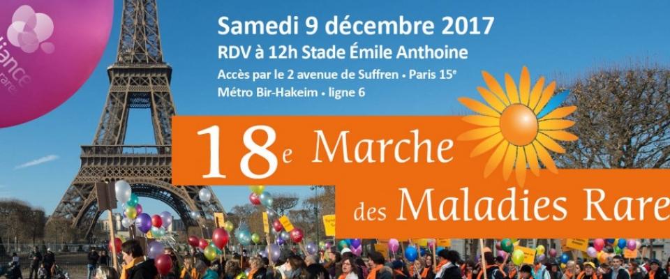 18ème Marche des Maladies Rares