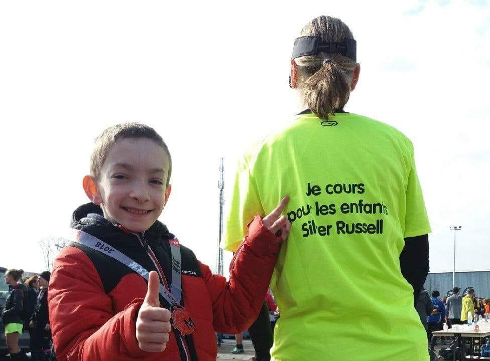42,195 Kms pour Maxou et les enfants Silver Russell