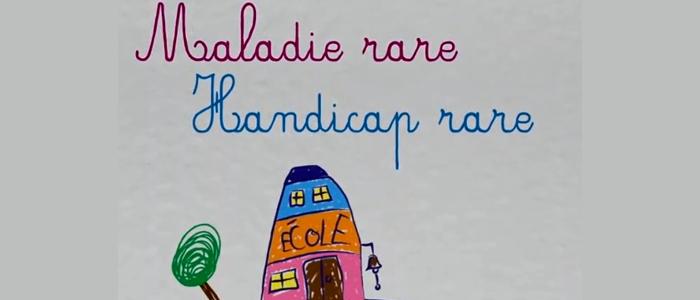 Aller à l'école en ayant une maladie rare ou un handicap rare : une vidéo pour informer