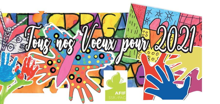L'histoire des cartes de vœux de l'AFIF