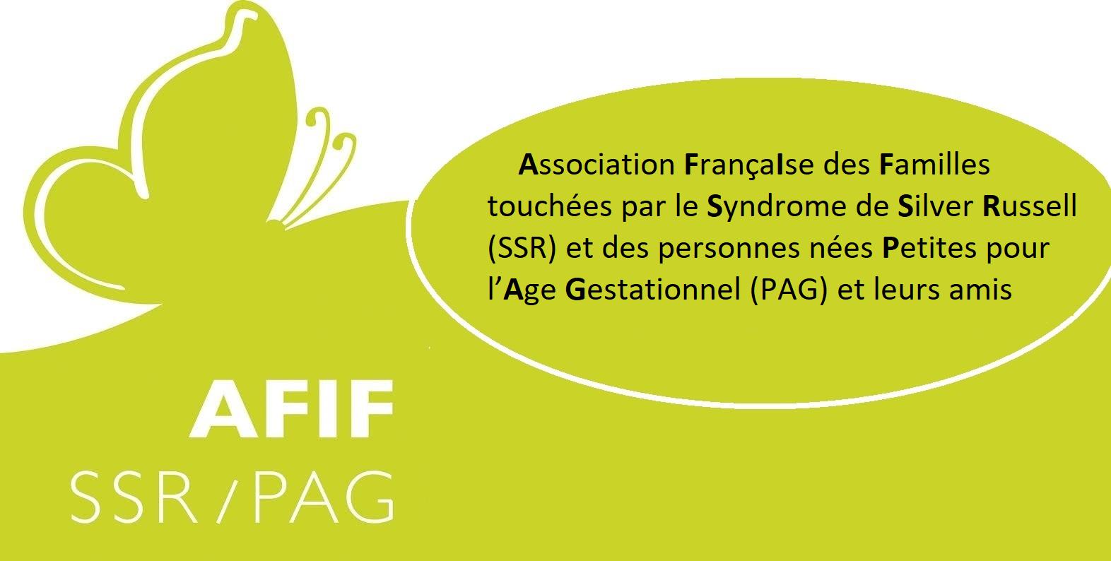 AFIF SSR PAG - Association Française des Familles touchées par le syndrome de Silver Russell (SSR) et des personnes nées Petites pour l'Age Gestationnel (PAG) et leurs amis